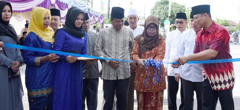 Pembukaan Pasar Ramadan yang Ditaja Dinas Perdagangan dan Perindustrian Kabupaten Bengkalis