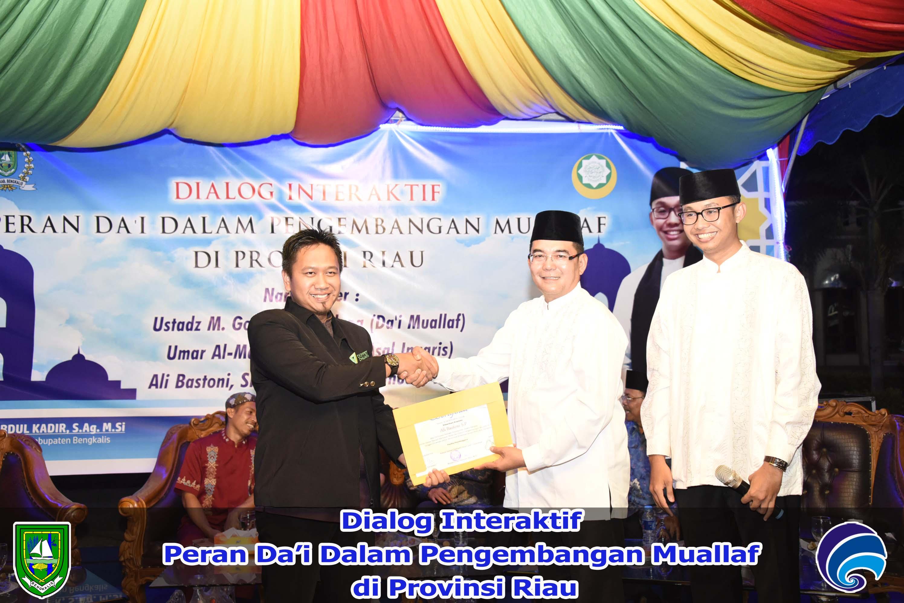 Dialog Interaktif Peran Da'i dalam Pengembangan Muallaf di Provinsi Riau